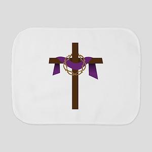 Season Of Lent Cross Burp Cloth