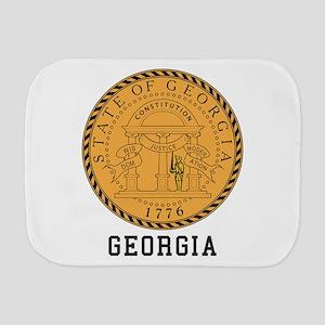 Georgia Seal Burp Cloth