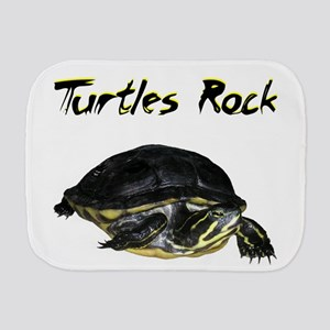 Turtles_rock Burp Cloth