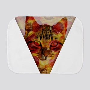 PizzaCat Slice Burp Cloth