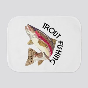 Trout Fishing Burp Cloth