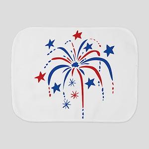 Fireworks Burp Cloth