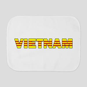 Vietnam Flag 001 Burp Cloth