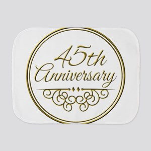 45th Anniversary Burp Cloth