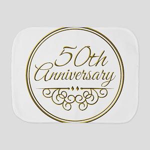 50th Anniversary Burp Cloth