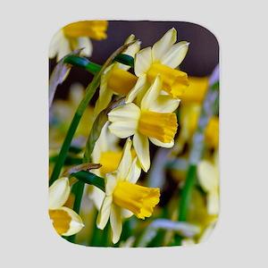 Yellow Daffodils Burp Cloth