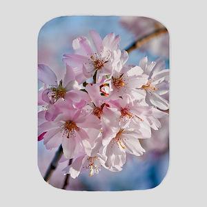 Japanese Cherry Blossoms Burp Cloth