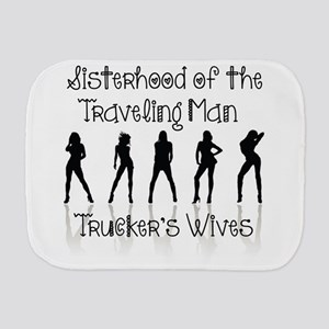 Sisterhood Trucker's Wives Burp Cloth
