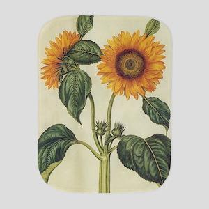Sunflower Burp Cloth