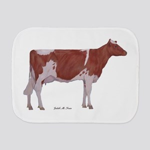 Golden Guernsey Cow Burp Cloth