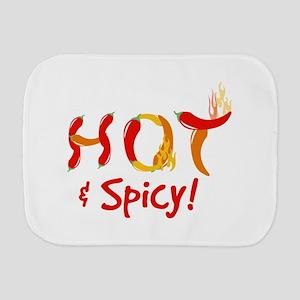 Hot & Spicy Burp Cloth