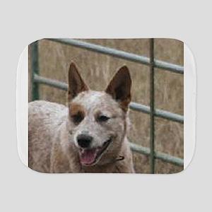 australian cattle dog red Burp Cloth