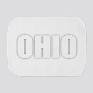 OHIO Burp Cloth
