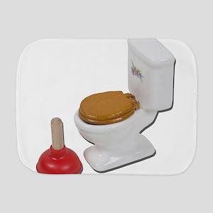 ToiletLargePlunger051411 Burp Cloth