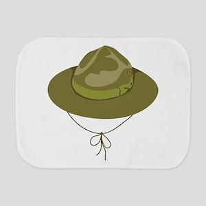 Scout Hat Burp Cloth