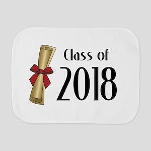 Class of 2018 Diploma Burp Cloth