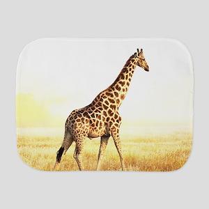 Giraffe Burp Cloth