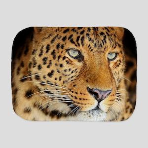 Leopard Portrait Burp Cloth