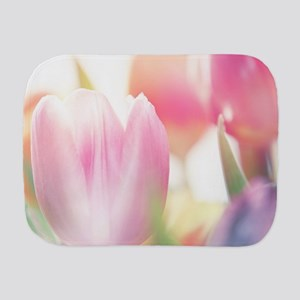 Beautiful Tulips Burp Cloth