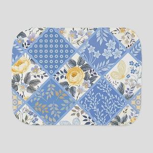 Patchwork Floral Burp Cloth