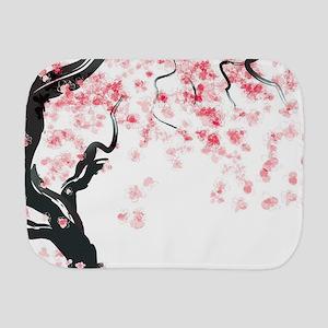Japanese Cherry Tree Burp Cloth
