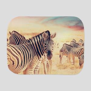 Beautiful Zebras Burp Cloth