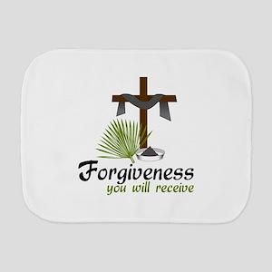 Forgiveness You Will Receive Burp Cloth