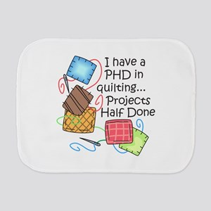PHD IN QUILTING Burp Cloth