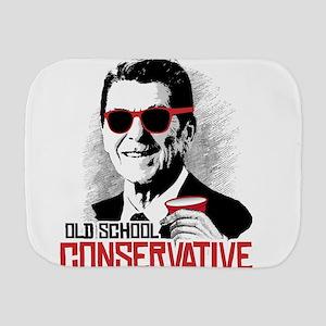 Reagan: Old School Conservative Burp Cloth