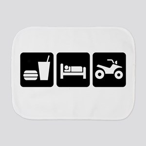 Eat, Sleep, ATV Burp Cloth