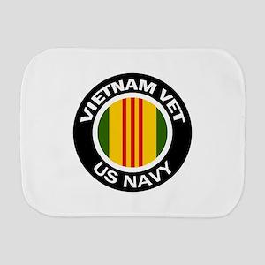 Vietnam Vet US Navy Burp Cloth