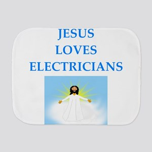 electrician Burp Cloth