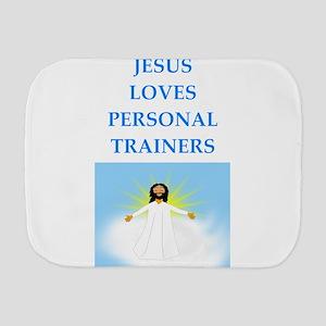 personal trainer Burp Cloth