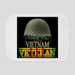 Thank A Viet Vet Burp Cloth