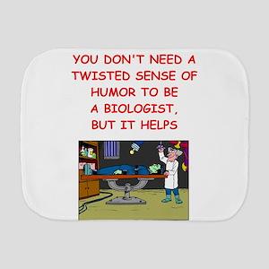 A funny joke Burp Cloth