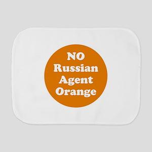 No Russian agent orange,never trump Burp Cloth