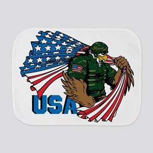 USA Burp Cloth