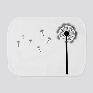Dandelion Burp Cloth