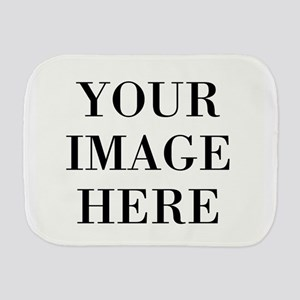 Your Photo Here by Leslie Harlow Burp Cloth