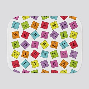 periodic_sq_1 Burp Cloth