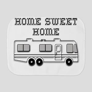 Home Sweet Home Motorhome Burp Cloth