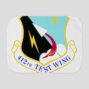 USAF Air Force 412th Test Wing Shield Burp Cloth