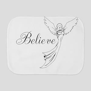 I believe in angels Burp Cloth