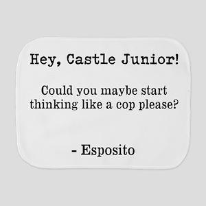 Castle Jr. Burp Cloth