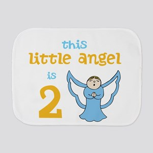 little angel custom age Burp Cloth