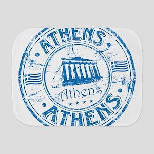 Athens Stamp Burp Cloth