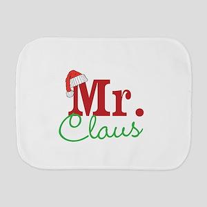 Christmas Mr Personalizable Burp Cloth