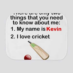 Two Things Cricket Burp Cloth