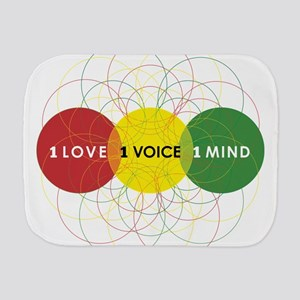 NEW-One-Love-voice-mind9 Burp Cloth