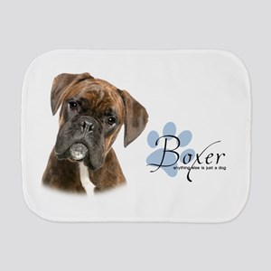 Boxer Puppy Burp Cloth